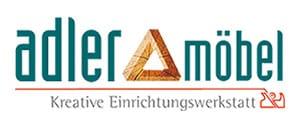 Logo Adler Möbel GmbH, Tischlerei Markt Hartmannsdorf