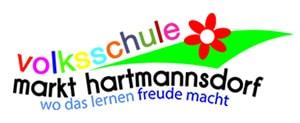 Logo Volksschule Markt Hartmannsdorf, Webseite Volksschule Markt Hartmannsdorf, Computer der Volksschule Markt Hartmannsdorf
