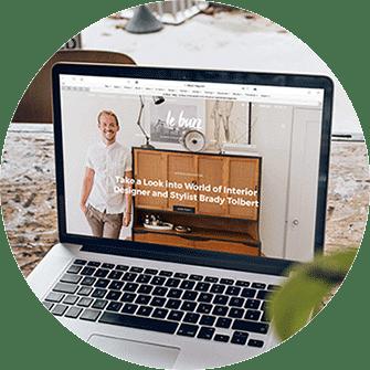 neue Webseite, Webdesign, Mac Boook Pro